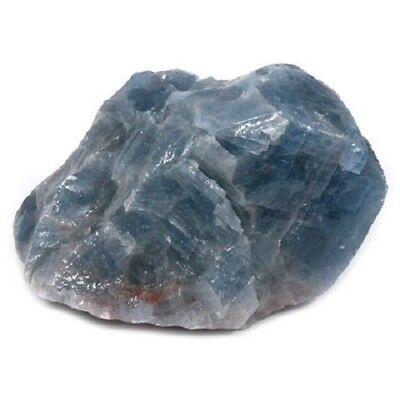 Rough Natural Blue Calcite  1 Ex Large Piece Gemstone Crystal Healing Chakra