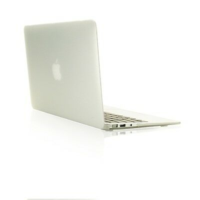 """NEW ARRIVALS! Rubberized CLEAR Hard Case for Macbook Air 13"""" A1369  and A1466 for sale  Shipping to India"""