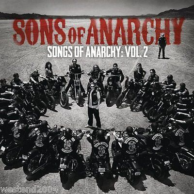 Songs From Sons Of Anarchy    Volume 2 Cd   Bonus Track New   Sealed Soundtrack