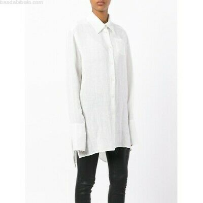 Yang Li..Oversized Wide Cuff..Linen..Blouse!