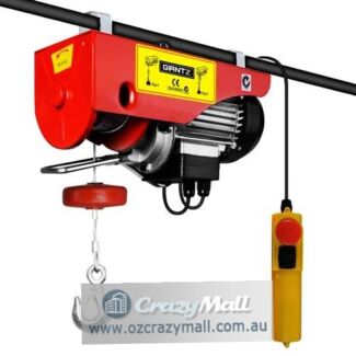 400/800KG 15m Rope Electric Hoist Winch Pro Lift Equipment