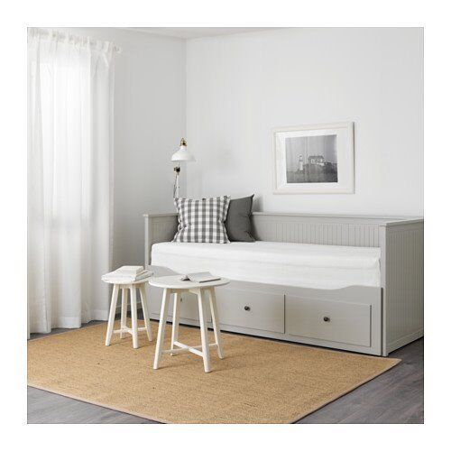 ikea hemnes convertible day bed into single double cot bed or sofa bed chest of drawers in. Black Bedroom Furniture Sets. Home Design Ideas