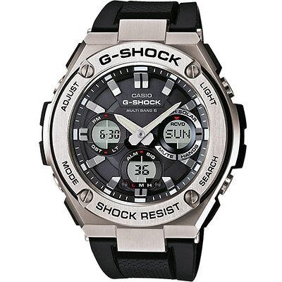 Casio G-Shock Reloj de pulsera Solar Watch para Hombre 20 ATM GST-W110-1AER