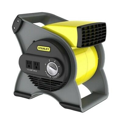 Blower Fan Air Mover Portable Variable Speed Pivoting Standalone 120 Volt Outlet