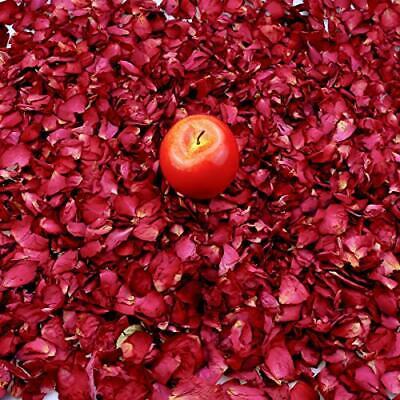 Heatoe 200 Grams Dried Rose Petals Natural Real Red Rose Flower Petals for We...