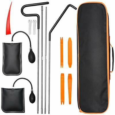 Car Tool Kit 13Pcs Professional With Easy Entry Long Reach Grabber Air Wedge Non
