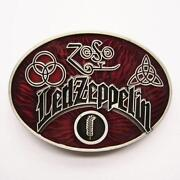 LED Zeppelin Belt Buckle