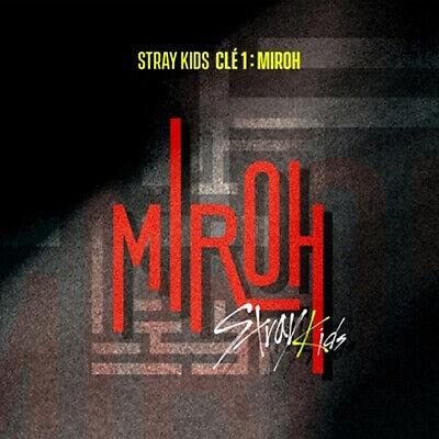 STRAY KIDS [CLE 1:MIROH] Mini Album NORMAL RANDOM CD+Photo Book+3p Card SEALED