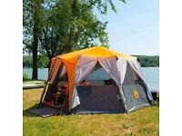 COLEMAN CORTES OCTAGON 8 MAN FAMILY TENT IDEAL FOR FESTIVAL GLAMPING LUXURY TENT