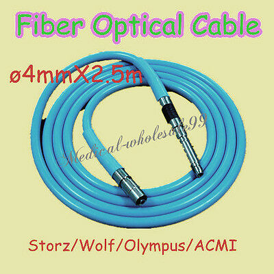 Endoscopy Fiber Optic Cable To Cold Light Source Endoscope Guide Beam 4x2.5m A