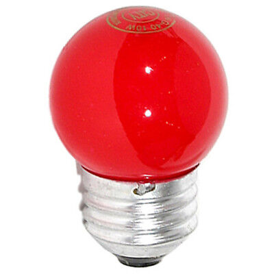 10W 220V Darkroom Red Safelight Lamp Replacement Spare Bulb (E26)