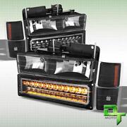 88 GMC Sierra Headlights