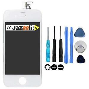 Replacement White LCD Screen and Digitizer For iPhone 4S -Tools Included