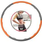 Hoelahoep 1.5 kg + Workout DVD