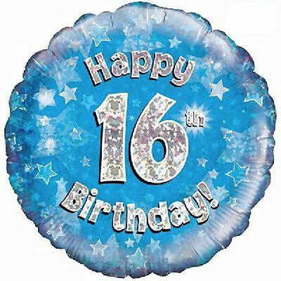 16th BIRTHDAY BALLOON 18