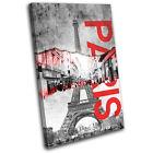 Paris Canvas Decorative Posters