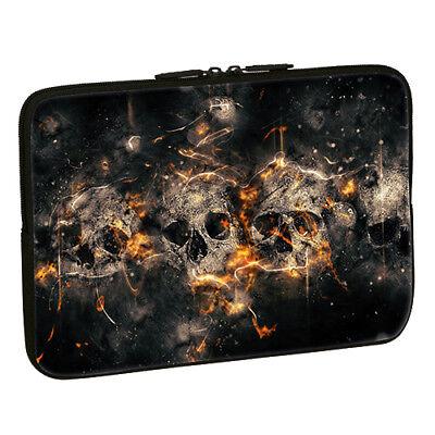 Design Notebook Schutzhülle 17,3 Zoll Laptop Hülle Tasche - Skulls Totenkopf