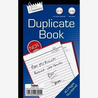 Duplicate Office Book Full Size - No Carbon Required NCR - WH2-R2C-055