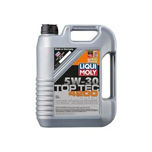 motor l 5w30 liqui moly top tec 4200 5 w 30 5 l vw 504 00 507 00 mb ebay. Black Bedroom Furniture Sets. Home Design Ideas