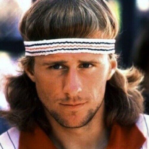 Retro Fila Tennis Headband- 100% Authentic - 80s Fancy Dress McEnroe & Borg