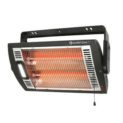 Comfort Zone CZQTV5M Ceiling Mounted Radiant Quartz Heater