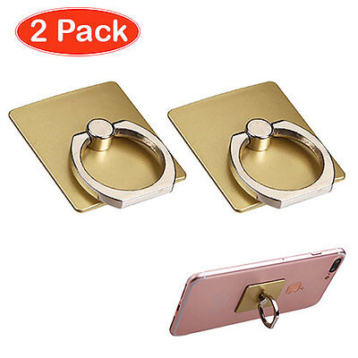 Gold Adhesive Cell Phone Ring Stand (2pcs)  for sale  Shipping to India