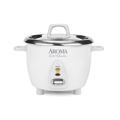 Aroma Housewares Select Stainless Rice Cooker & Warmer with