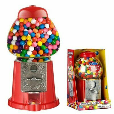 Bubblegum Vending Machine Chewing Gum Dispenser Candy Holder Saver Classic Toy