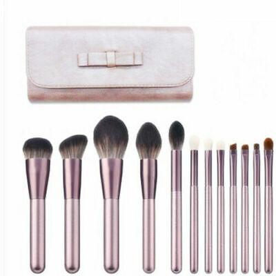 UK Kabuki 12Pcs Make up Brush Set Brushes Blusher Face Powder Eyebrow Hot Style