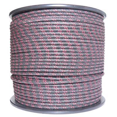 1M Algodón Trenzado Eléctrico Del Automóvil Cable 18 Calibre Negro Rojo Mancha