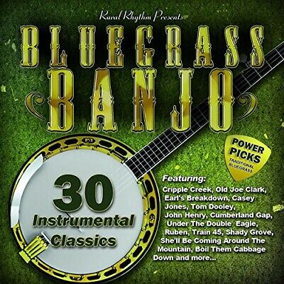 Various Artists - Bluegrass Banjo Power Picks: 30 Instrumental / Vario comprar usado  Enviando para Brazil