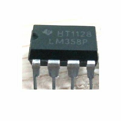 5-pcs Lm358p Dip-8 Operational Amplifiers   Ships From The Usa