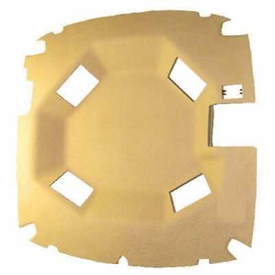 Cab Foam Main Headliner Formed Vinyl Tan Compatible With John Deere 8200 8100