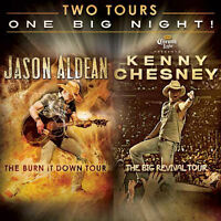 Kenny Chesney, Jason Aldean, and Brantley Gilbert Tickets in SEA