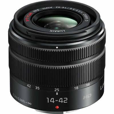 NEW Panasonic Lumix G Vario 14-42mm f/3.5-5.6 II ASPH. MEGA O.I.S. Lens US model