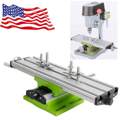 Sale Milling Machine Cross Sliding Table Vise For Diy Lathe Bench Drill Usa