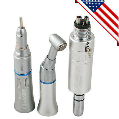 Usa Dental Slow Low Speed Handpiece Kit Push Button 4 Holes 4h E-type