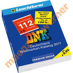 NEU Leuchtturm DNK 2017 Deutschland Briefmarken Katalog mit Michel-Nummernsystem