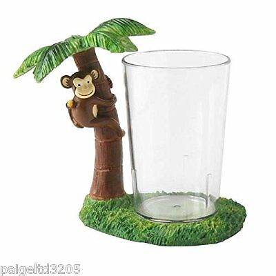 Essential Home Spunky Monkey Tumbler - Green