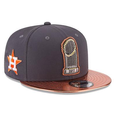 Houston Astros New Era MLB 2017 World Series Champions Parade 9Fifty Headwear