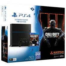 PLAYSTATION 4 1TB CONSOLE + CALL OF DUTY BLACK 10 IN STOCK Clayton South Kingston Area Preview