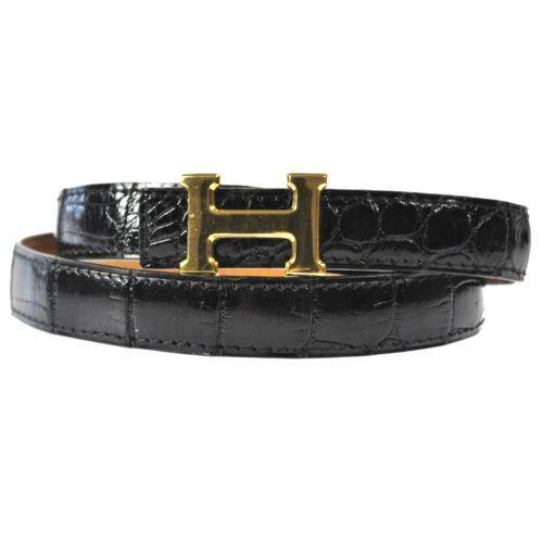 Hermes Crocodile Belt Ebay