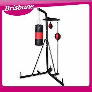 Multi Station Boxing Stand with Punching Bag/Speed ball QLD Eagle Farm Brisbane North East Preview