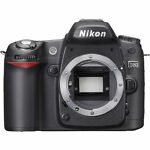 Nikon COOLPIX D80 10.2 MP Digital SLR Camera - Black (Body Only)