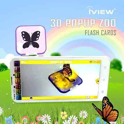 Popup Zoo Live 3D Interactive Card early educational product Best Gift Kid
