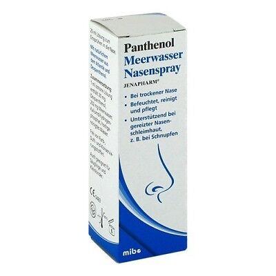 PANTHENOL Meerwasser Nasenspray JENAPHARM 20ml 09213387