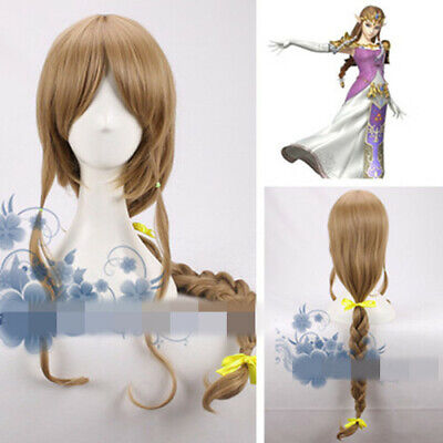 The Legend of Zelda Twilight Princess Cosplay Kostüm Costume Perücke wig Neu New ()