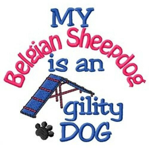 My Belgian Sheepdog is An Agility Dog Long-Sleeved T-Shirt DC1738L Size S - XXL