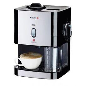 Breville VCF011 black instant cappuccino espresso coffee maker