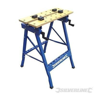 HEAVY DUTY FOLDING ANGLE FLIP TOP CLAMP VICE WORKBENCH WORKMATE WORKTOP 150KG
